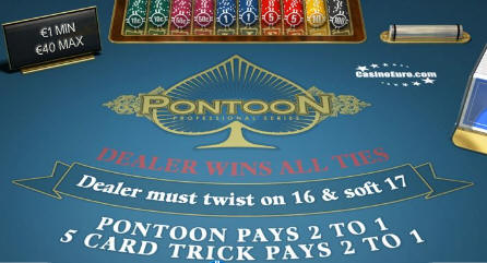 Blackjack vs pontoon